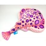 *NS0049 Мягкая игрушка Скат Электрический Розовый 40 см Абвгдейка
