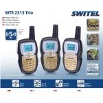 *WTE2313 Рация с функцией радионяни (3 шт в комплекте) Switel