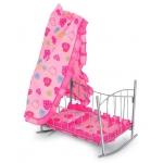 99349 Кроватка–качалка для кукол Муси-Пуси