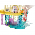"""99311 Подарочный игровой набор """"Русалочка"""": замок, кукла Ариэль Disney и аксессуары Princess Mattel"""