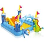 """99087 Детский игровой комплекс с бассейном """"Замок с Драконом"""" Intex"""