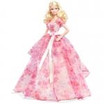 Купить 991019 Кукла праздничная в нежно-розовом длинном платье Barbie Mattel