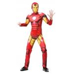 Купить 99009 Маскарадный костюм детский с маской Железный человек  Iron Man