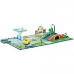 Купить 990321 Игровой набор «Почта с мостом» Робокар Поли Silverlit