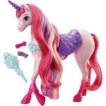 Купить 991008 Игрушка Единорог 29 см с набором для причесок Barbie Mattel