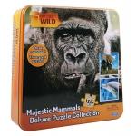 Купить 9916446 Настольная игра Набор Пазл 3 в 1 (слон, горилла, дельфин) Nat Geo Wild Uncle Milton