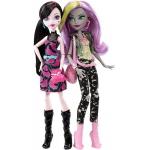 "*DNY33 Набор кукол Моаника и Дракулаура ""Добро пожаловать в Школу Монстров"" Монстер Хай Mattel"