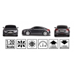 8126B Машина на радиоуправлении Audi TT Coupe 1/20 Черная MJX