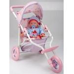 Купить 99066 Набор Кукла с коляской Agatka