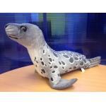 *SW-0024 Мягкая игрушка Тюлень малыш серый 57 см