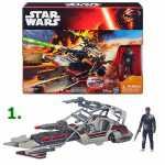 *B3672 Игрушка Космический корабль Класс 2 с фигуркой 9,5 см в ассорт. Звездные войны Star Wars Hasbro