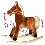 99534 Средняя качалка - лошадка со звуком и с движением