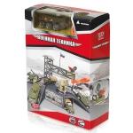 990338 Игровой набор Военный командный пункт с 1 боевым транспортом