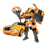 Купить 50170 Игрушка Робот-трансформер Машина Ford Mustang FR500C 28 см Happy Well