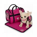 Купить 99121 Собачка Чихуахуа Чи Чи в светящемся платье с сумочкой и пледом Chi Chi Love Simba