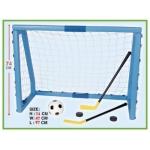 """Купить 59096 Детский спортивный набор """"Ворота с инвентарем: футбол и хоккей"""""""