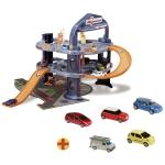 9903191 Детская трехуровневая парковка с 5 машинками Majorette