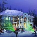 Купить 992019 Лазерный проектор на дом Новогодний Звездный дождь Beatific