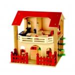 Купить 9983550 Кукольный деревянный домик
