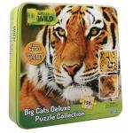 Купить 9916445 Настольная игра Набор Пазл 3 в 1 (гепард, тигр, лев) Nat Geo Wild Uncle Milton