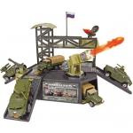 Купить 990338 Игровой набор Военный командный пункт с 1 боевым транспортом