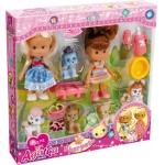 Купить 99985 Куколки с животными (2+5) Agatka