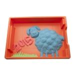 99551 Кинетический песок 3 кг (три цвета: синий, зеленый, красный) WABA FUN