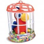 Купить 990748 Интерактивный Попугай-повторюшка в клетке Чарли Charlie IMC TOYS
