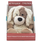 Купить 990018 Мягкая игрушка-грелка Собака Cozy Plush Warmies