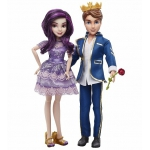 "993127 Набор из 2 кукол Мэл и Бен Наследники ""Коронация"" Descendants Disney от Hasbro"