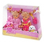 99741 Куклы Близнецы с животными Agatka