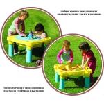 375 Игровой стол-песочница для воды и песка Marian Plast