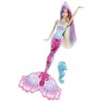 """Купить 999198X Barbie Русалка. Кукла серии """"Русалочка, меняющая цвет"""" (розовый хвост)"""