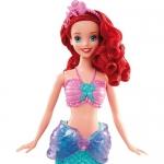 99021 Кукла Русалочка Ариель с Флаундером Принцессы Дисней Mattel