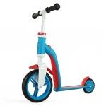 99417 Самокат-беговел трансформер 2 в 1 Highway Baby голубой с красным Scoot&Ride 2015
