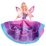 Купить 99133V Кукла Принцесса-фея Barbie + подарок мультфильм Барби Марипоса на DVD