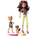 """Купить 1586 Набор кукол Monster High Клодин Вульф с братом Баркером и сестрой Вередит """"Семья Монстриков"""" Mattel"""