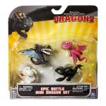 """Купить 996681 Набор фигурок-игрушек """"Как приручить дракона"""" Беззубик 4 шт."""