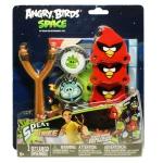 """Купить 993306 Игра детская """"Сердитые птички космос"""" с мишенью Angry Birds"""