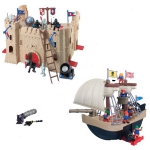 Купить 20226/1 Игровой набор Корабль и крепость Red Box