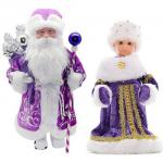 Купить 992017 Снегурочка и Дед Мороз под елку Happy New Year