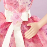 991019 Кукла праздничная в нежно-розовом длинном платье Barbie Mattel