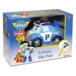 990030 Машинка на радиоуправлении Поли - следуй за мной Робокар Поли SilverLit