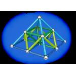 263 Магнитный конструктор Color 91 деталь Geomag
