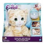 Купить 990040 Интерактивная игрушка Покорми котёнка 23 см FurReal Friends Hasbro