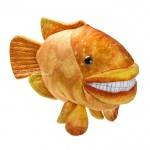 Купить *SW-0052 Мягкая игрушка Рыба улыбающаяся оранжевая 45 см