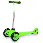993857 Самокат трехколесный Moby Kids зеленый