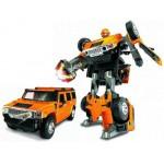 Купить 53091 Игрушка Робот-трансформер Машина Hummer H2 1:24 Happy Well