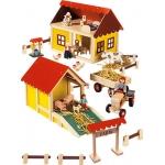 """Купить 82218 Набор деревянный с животными """"Ферма"""""""
