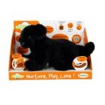"""Купить 991210R-BLD Мягкая интерактивная игрушка """"Лабрадор черный"""" Teeboo"""
